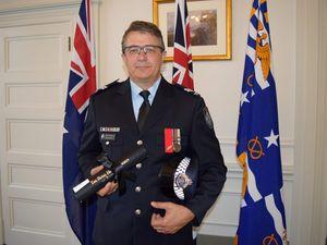 Sunshine Coast hero honoured for creek rescue