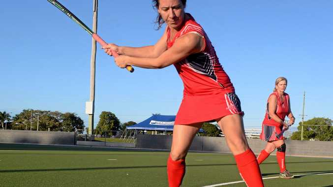 WOMEN'S HOCKEY: Leah McLaren prepares for the women's masters championships this weekend.