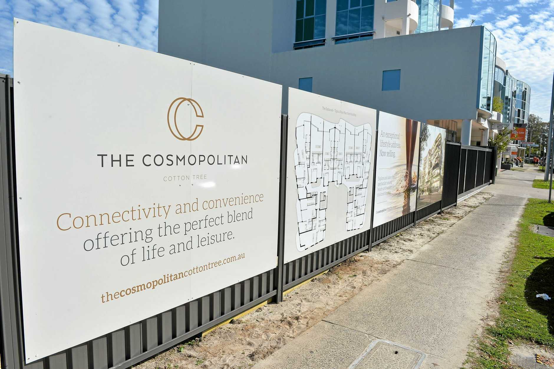 GREEN LIGHT: The Cosmopolitan has been approved for development at Cotton Tree.