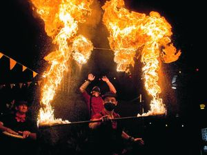 Killarney Bonfire Night to set your senses alight