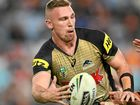 SECOND-PHASE KING: Bryce Cartwright of the Panthers poses a threat to the Broncos with his offloading ability.