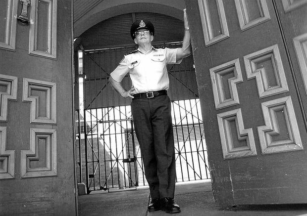 John Heffernan about to begin work as Grafton Jail governor in 2003.