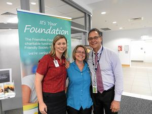 $20,000 towards cancer unit expansion from new charity