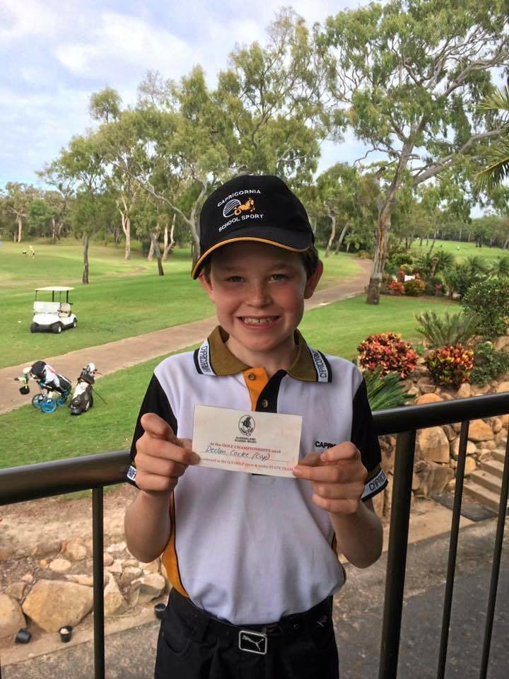 Ten-year-old Declan Corke is this week's Yaralla Sports Star nomination