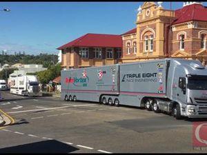 Supercar Transporter Convoy