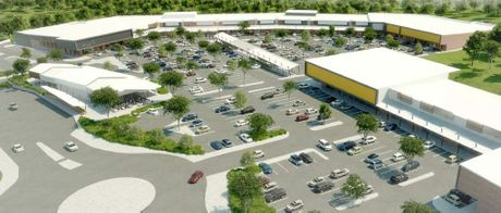 An artist's impression of the proposed homeware centre. Photo Contributed