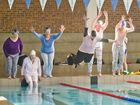 Pyjama pool jump for kids in foster care