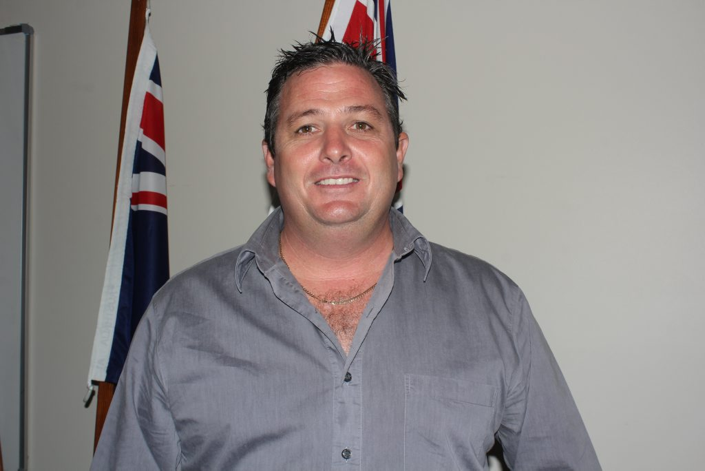 Tourism Whitsunday CEO Craig Turner at the Budget meeting in Proserpine today. Photo Peter Carruthers / Whitsunday Times