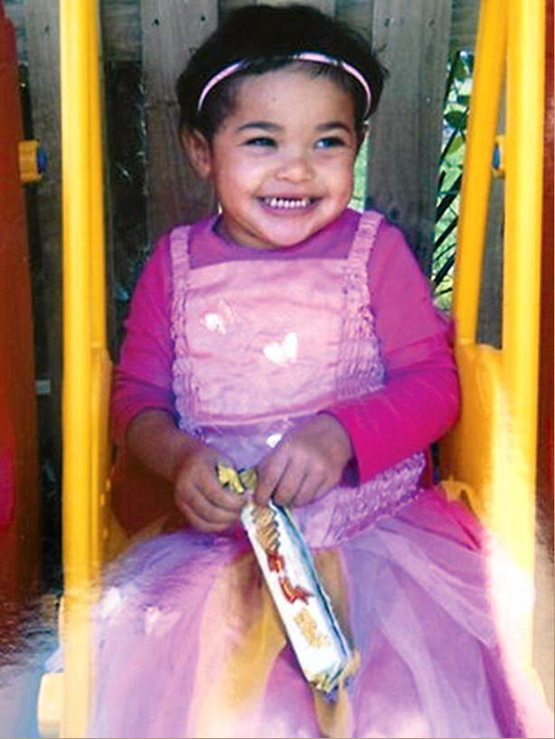 ** FILE ** A supplied file photo obtained Thursday, Sept. 1, 2011 of toddler Tanilla Warrick-Deaves who was found at a home in Watanobbi on the Central Coast and later pronounced dead. Warren Ross is on trial charged with murdering two-year-old Tanilla Warrick-Deaves, the daughter of his girlfriend Donna Deaves, in August 2011.  (AAP Image/NSW Police) NO ARCHIVING, EDITORIAL USE ONLY
