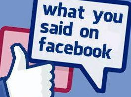 What we say about your Facebook comments