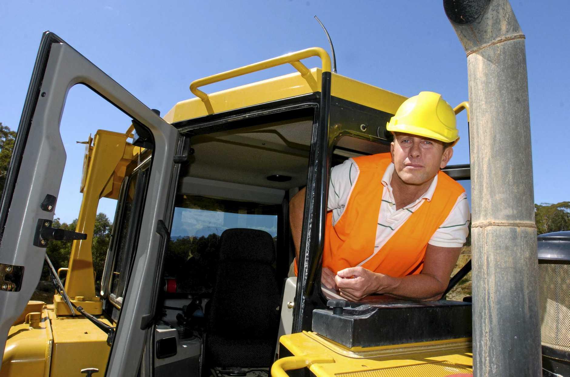 FRAUDSTER: Luke Bracken during his stint as executive chairman of Bracken International Mining.