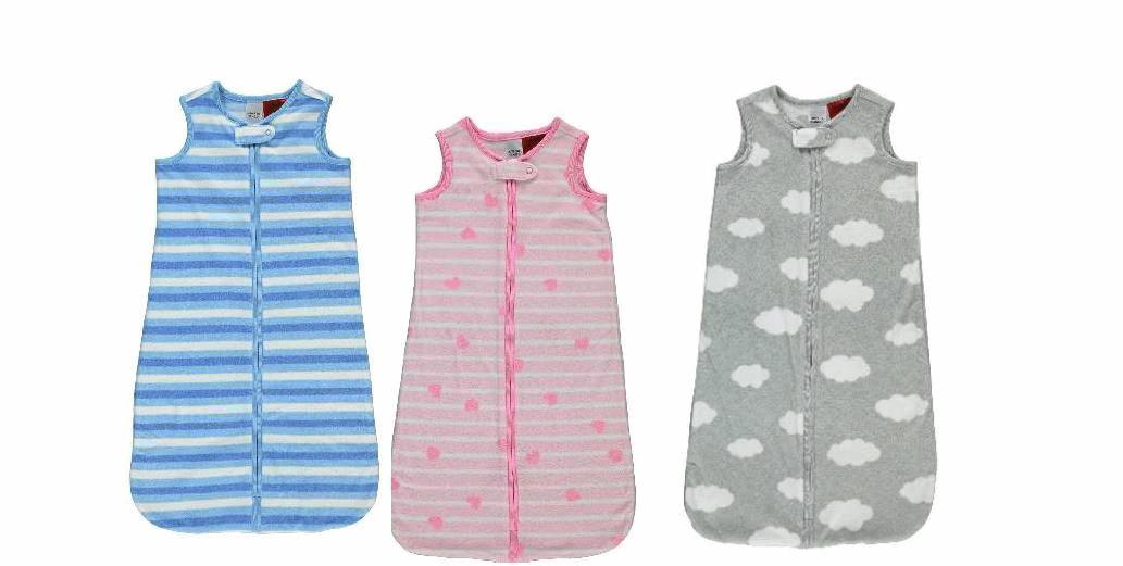 Coles has recalled Mix Brand Infant Grow Bags Girls Heart, Boys Stripe and Unisex Cloud.