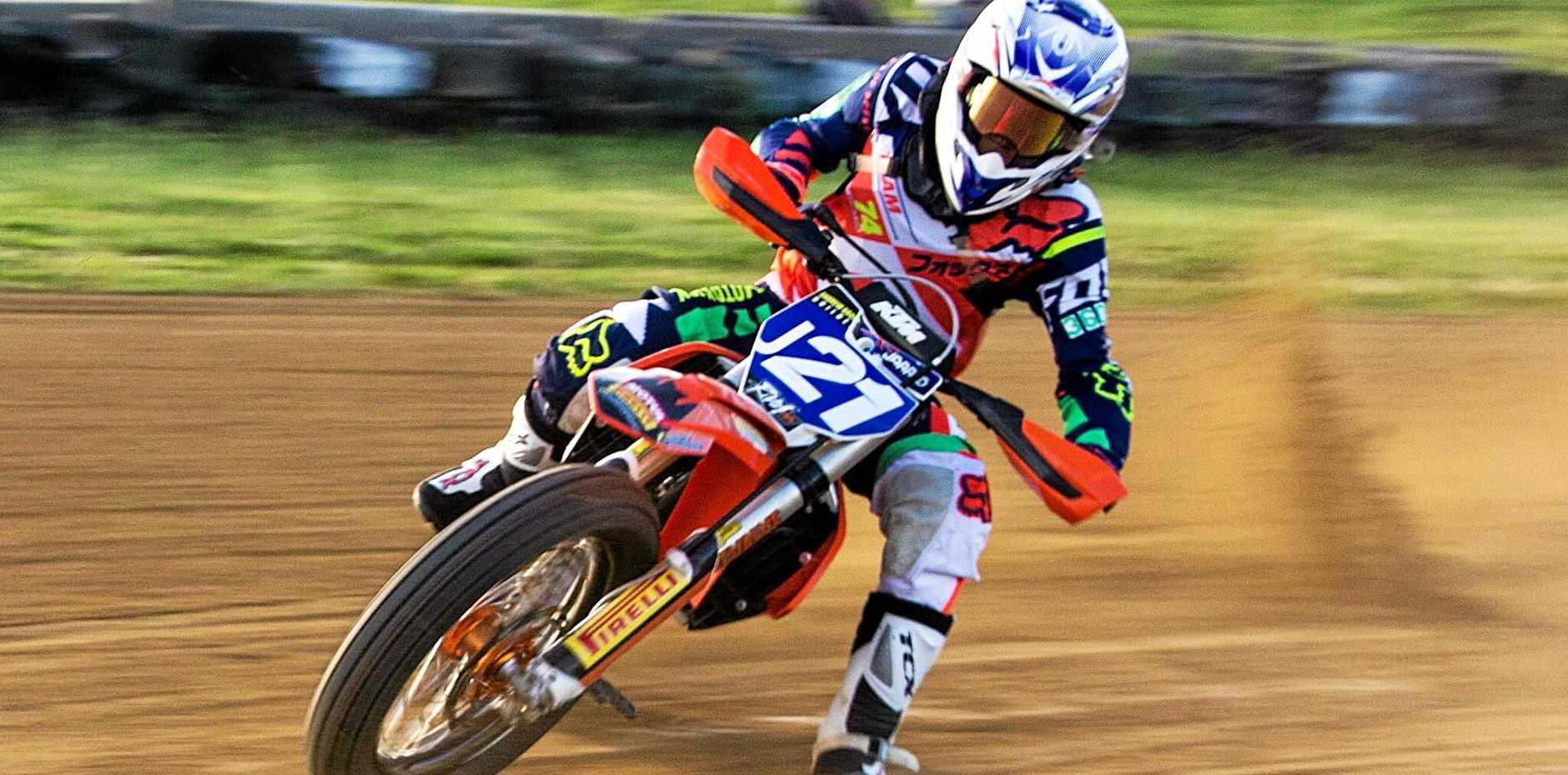 Teenaged Gympie dirt bike sensation Jarred Brook has become the first international rider to win the prestigious American Motorcyclist Association Horizon Award.