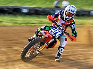 Gympie rider sweeps pool at premier US dirt track event