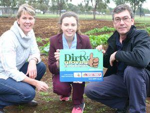 Oakey's Ag students develop new edible farm garden