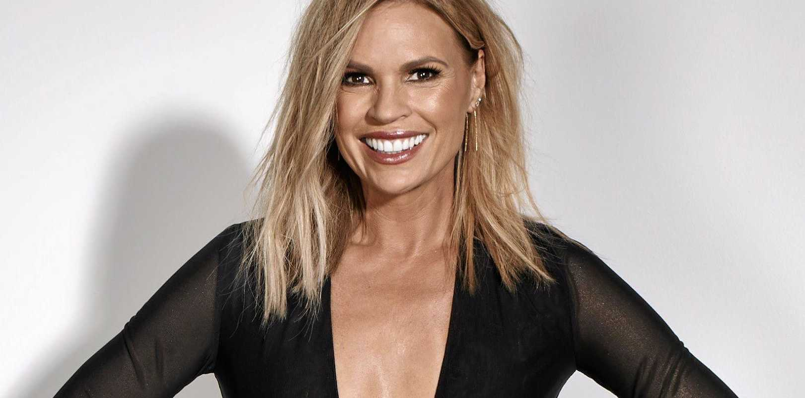 The Voice host Sonia Kruger.