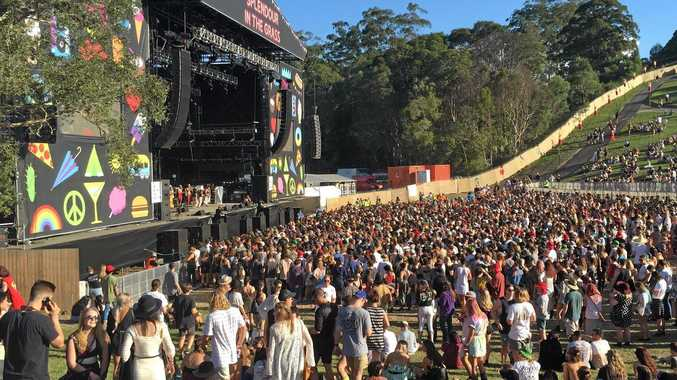 The Amphitheatre is the epicentre of the music action as Splendour's biggest stage.