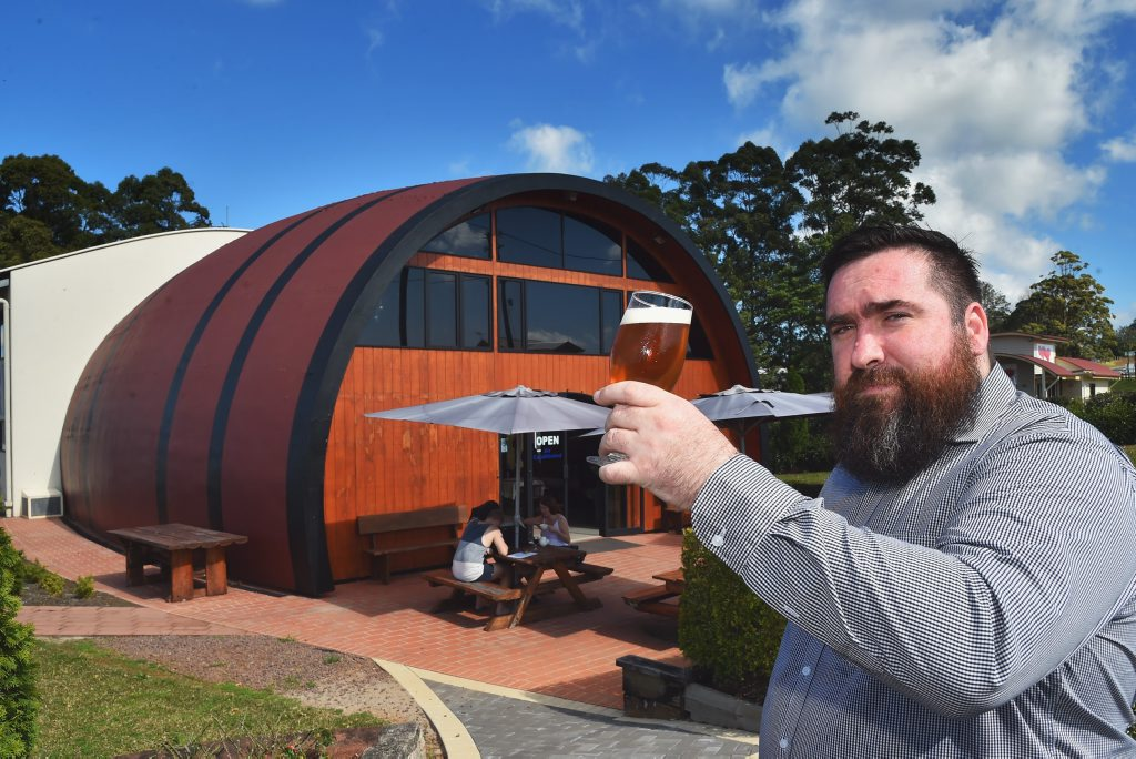 Ryan McLeod is the owner of McLeod Brewing Company and Maleny Mountain Wines, Landsborough-Maleny Rd, Maleny.