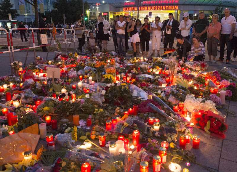 Police piecing together a profile of the gunman whose rampage at a Munich mall Friday left nine people dead described him Saturday as a lone, depression-plagued teenager.