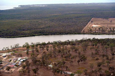 The site of the proposed Hinkler Bridge linking Burrum Heads to Buxton. Photo: Robyne Cuerel / Fraser Coast Chronicle