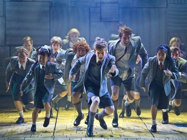 A scene from Matilda The Musical.