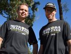CHALLENGE ACCEPTED: Deon McLean and Mick Freeman finished ninth in the Kokoda Challenge 96km race on the Gold Coast on July 16-17.