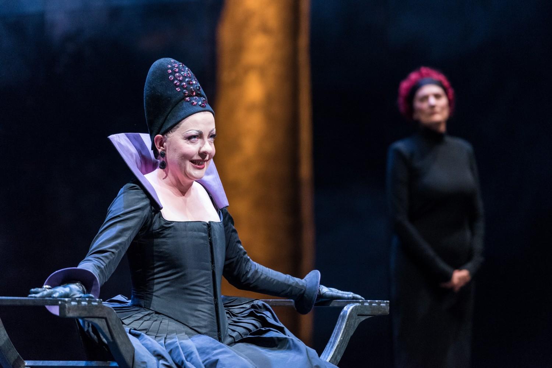 A scene from Brisbane Baroque's opera Agrippina.