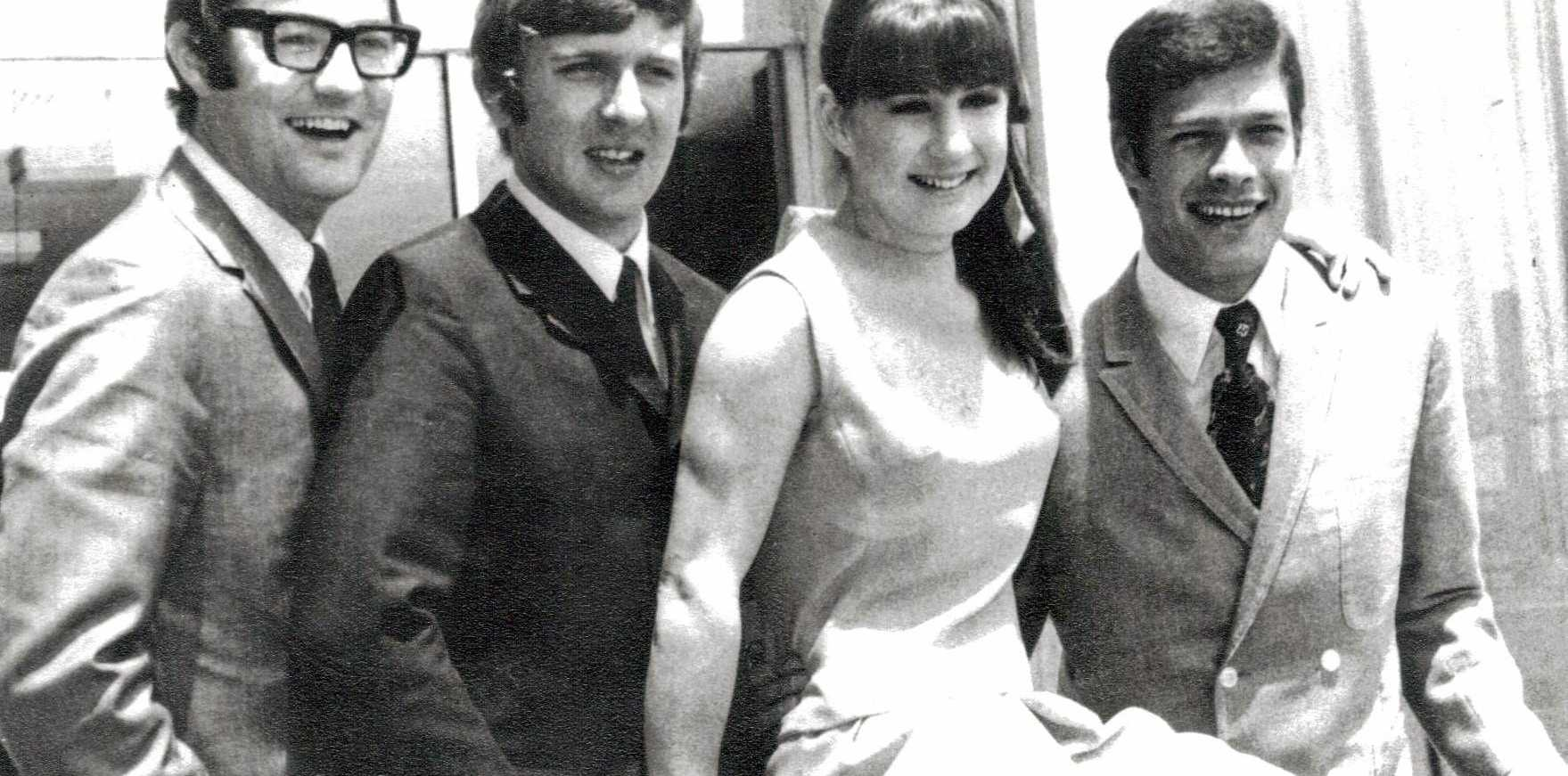 THE SEEKERS IN THE '60S: Athol Guy, Bruce Woodley, Judith Durham and Keith Potger.