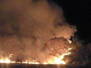 Record hot weekend heralds imminent bushfire season