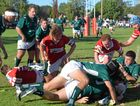 IN THE THICK OF IT: When the Frillies played Condamine at home in May.