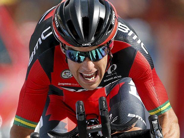 WRETCHED LUCK: BMC Racing rider Richie Porte of Australia.