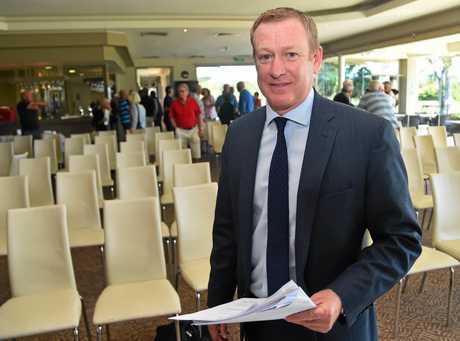 Administrator, Gavin Morton from Morton's Solvency Accountants, Brisbane, will front a second creditors' meeting for Peregian Springs Golf Club on Tuesday mroning.