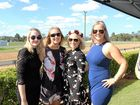 Chloe Sheil, Shell Rose, Letitia Shepperson and Jess Walker at the Zinc 96.1 Race Day at Gympie Turf Club on Saturday July 23.