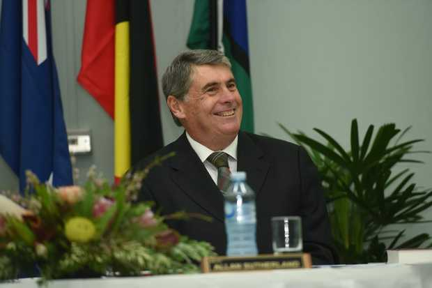 Mayor Allan Sutherland (pictured) will face the CCC on Friday.
