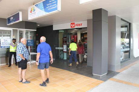 The new Australia Post superstore at Sydney St, Mackay.