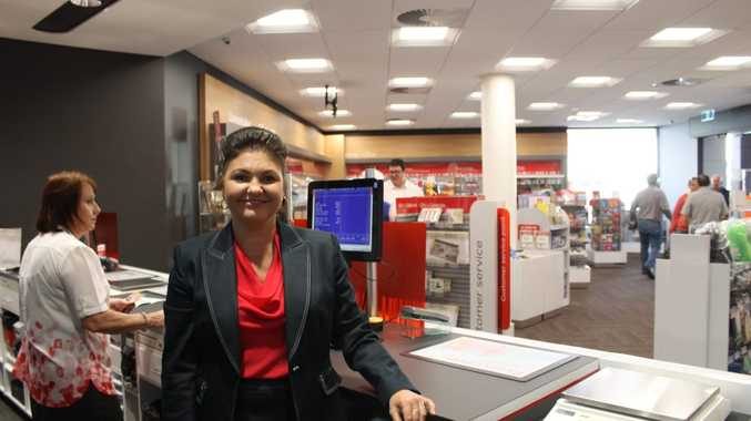 Australia Post state manager Anita Britcher at the newly opened superstore at Sydney St, Mackay.