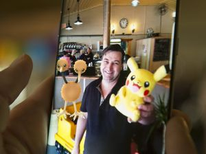 Cafe owner lures customers with Pokémon Go