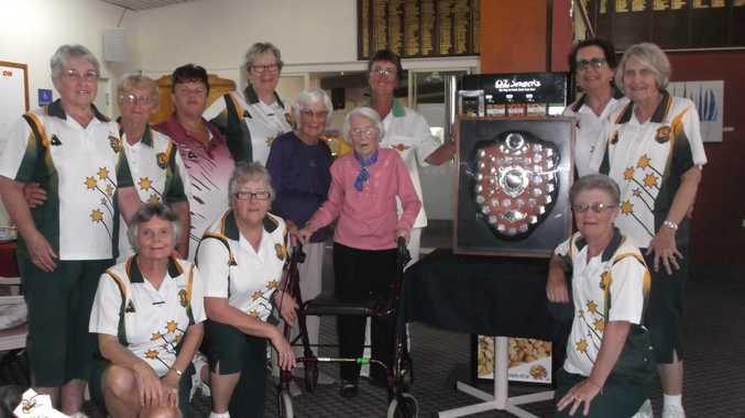 CHAMPIONS: North Mackay ladies won the Johnston Shield.