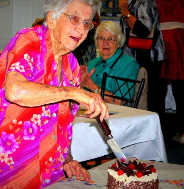 MILESTONE: Flo O'Hanlon celebrates her 94th birthday.