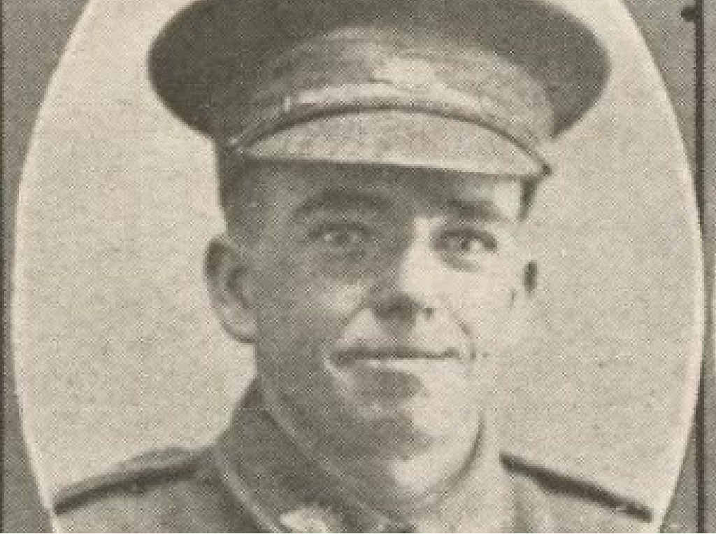 LIFE LOST: Brandy Creek resident, Private Robert 'Bobby' Smail, was killed in action at Pozieres on July 25, 1916.