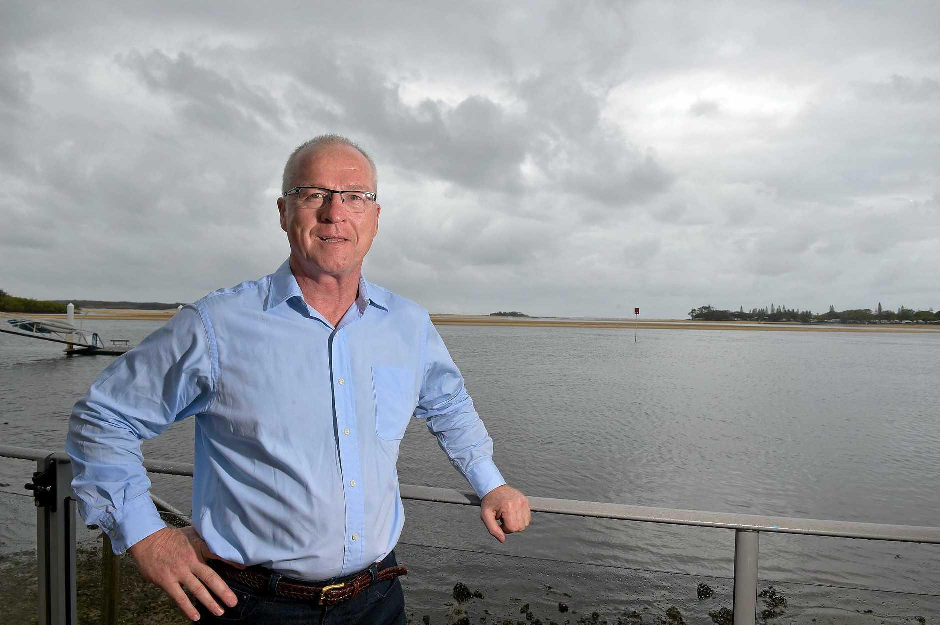 Mark Jamieson is the new patron for Coast children's charity SunnyKids.