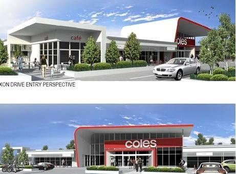 NEW JOBS: Decision on Coles development to be made tomorrow by the council.