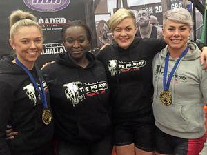 WATCH: Bundy girl lifts a world record