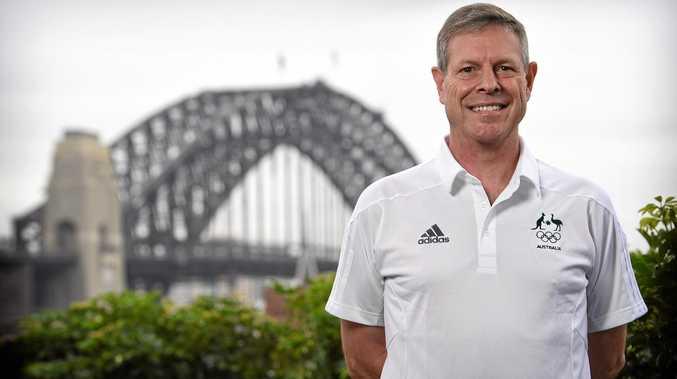 FIFTH GAMES: Australian sport shooter Warren Potent.