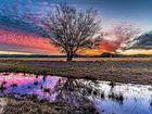 Sunset at Harrisville