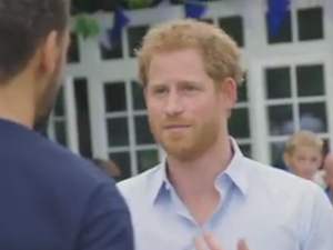 Prince Harry talks about the loss of his mother