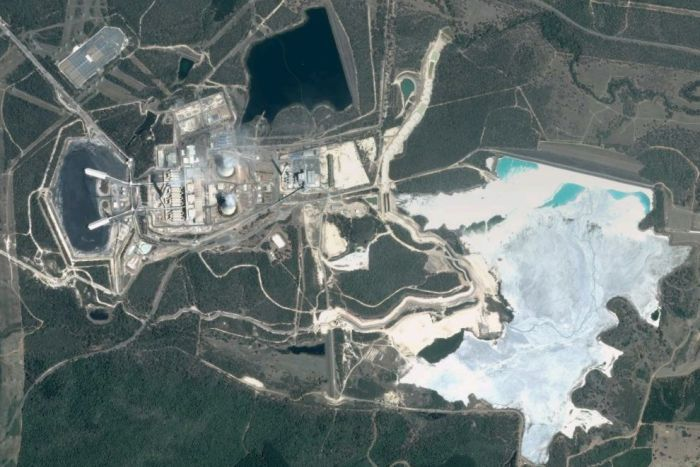 The Tarong North power station, west of Brisbane. (Google Earth)