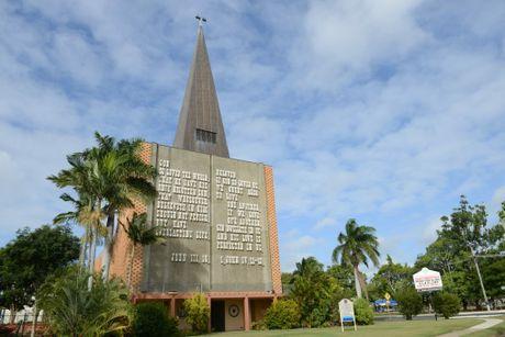ICONIC BUILDING: St Johns Lutheran Church on George St Bundaberg. Photo: Paul Donaldson / NewsMail