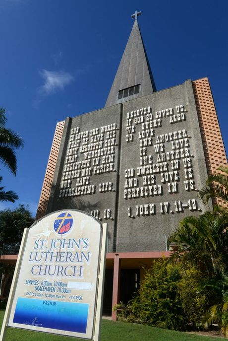 HERITAGE LISTED: St John's Lutheran Church.