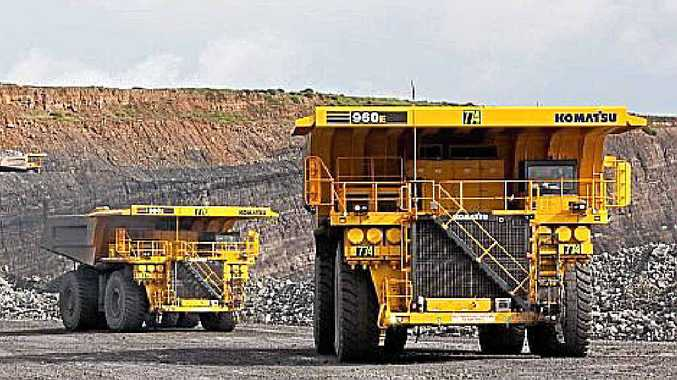 The 960E series of Komatsu dump trucks are some of types of machines used by the company within mining and areas like the Bowen Basin.